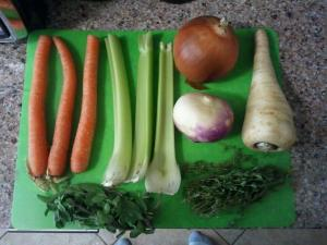 Veggies...yum